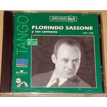 Florindo Sassone Y Sus Cantores 1947/1956 Cd Argentino