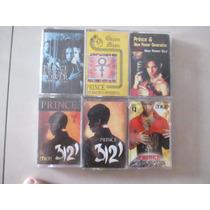 Prince Lote Cassettes Raros Ediciones Egipto -túnez -méxico