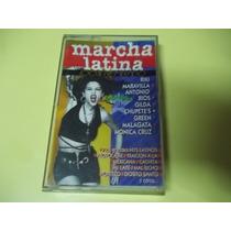 Cassette Marcha Latina Compilado Cumbia