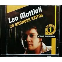 Leo Mattioli 20 Grandes Exitos Cd Nuevo Cerrado Cumbia Oca