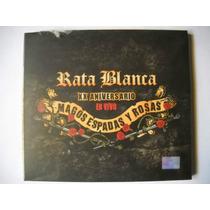 Rata Blanca Magos Espadas Y Rosas Xx Aniversario Cd +rata B.