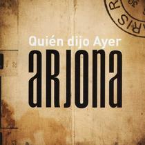 Ricardo Arjona Quien Dijo Ayer Edición Especial (2 Cd)