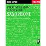 Libro De Saxo Creative Reading Studies For Saxophone Bf