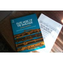 Libro De Partituras Para Flauta Traversa Y Piano. P Barroco.