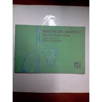 Libro Danzas Del Barroco Para Dos Flautas Dulces Degen