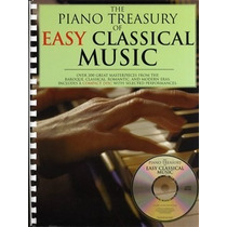 The Piano Treasury Of Easy Classical Music Partituras + Cd