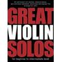 Libro De Partituras Para Violin - Great Violin Solos - Nuevo