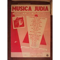 Partitura Música Judía - Canciones Y Bailes Tradicionales