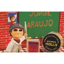 Libro De Bateria De Jorge Araujo Clase Abierta Dvd +baquetas