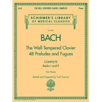 Bach - The Well - Tempered Clavier - Books I And Ii - For Pi