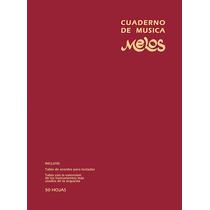 Pack De Dos Cuadernos Pentagramados Espiralados 50 Hojas