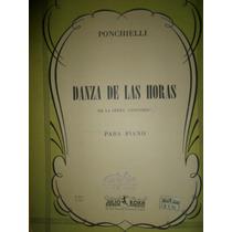 Partitura Piano Danza De Las Horas Ponchelli