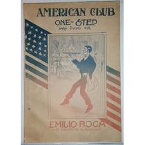Antigua Partitura American Club - Emilio Roca