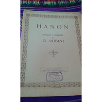 Hanon Rubini Ricordi Partitura Envios Mdq