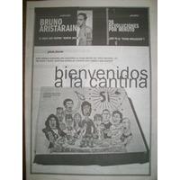 Suplemento Si- Bruno Aristarain / Morfi, Chupi Y Rock