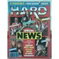 Revista Hard Magazine Metal Stryper Manowar Maiden Europe !!
