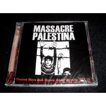 Massacre Palestina - 87/91 Cd Nuevo Sellado