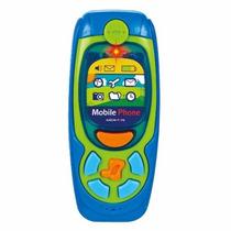 Teléfono Celular De Bebé +6 Love Con Luz-sonidos Y Música