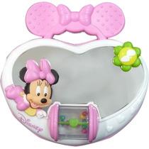 Espejo Musical Corazon Minnie Disney Original Bebes