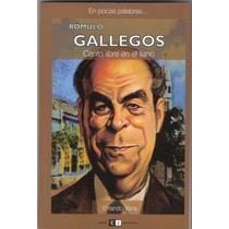Rómulo Gallegos, Canto Libre En El Llano - Orlando Yans