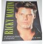 Libro Ricky Martin - Album Palabras Y Fotografias Anne Raso