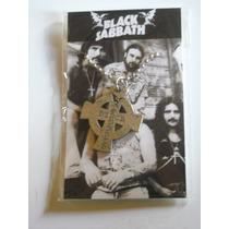 Musica Black Sabbath Dije Colgante Collar