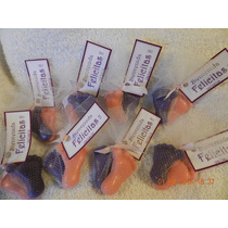 Souvenirs Jabones Piecitos Pack Por 10