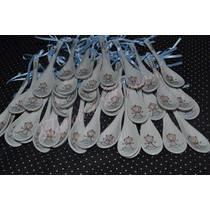 Cucharas De Porcelana Para Souvenirs. 10 Unidades!!!!