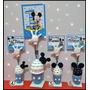 10 Souvenir Mickey Minnie Portamensaje Primer Año Nacimiento