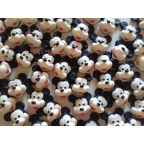 10 Apliques De Mickey, Kitty, Sapa Pepa, En Porcelana Fria