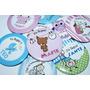 Souvenirs Pin Iman Para Nacimiento Personalizados !!