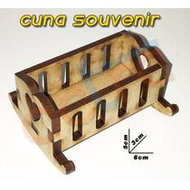 Cunita Souvenir De Nacimiento O Bautismo