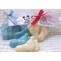 Piecitos Jabones Baby Shower, Nacimiento, Bautismo Por Par