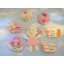 10 Souvenirs Baby Shower En Porcelana Fria