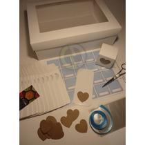 Cajas De Souvenir Nacimiento / Bautismo Nene + Accesorios