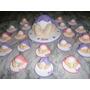 10 Souvenirs Nacimiento En Porcelana Fría 10 Unidades