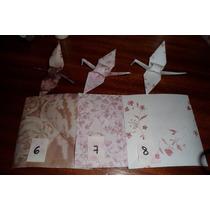 Las Grullas De Origami Dia Navidad Souvenir Nacimiento