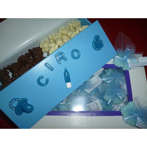 Kit Souvenir Piecitos Chocolate Y Jabon Baby Shower Nacimie