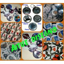Pin Personalizado-boton-prendedor 55mm Pack X 10un Souvenir