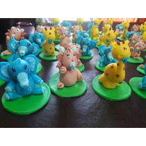 45 Souvenirs Animalitos Elefantes Leon Jirafa