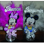 Souvenirs Centros Cumple Infantil Mickey Y Minie Minion