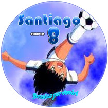 Kit Imprimible Supercampeones Candy Bar Golosinas