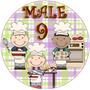 Etiquetas Niños Cocinando Imprimible Golosinas Imágenes