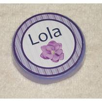 Souvenirs Jabones Personalizados Redondos X 10 Artesanales
