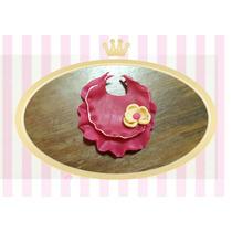 Souvenir Babero En Porcelana Bautismo Nacimiento Baby Shower