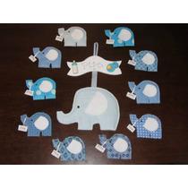 Souvenir Nacimiento Babyshower Cumpleaños Elefantito Iman
