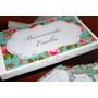 Souvenirs Caja Personalzada +40chocolates+40 Tarjeta