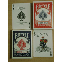 Cartas Naipes Bicycle Rider Back Originales - Magia O Poker