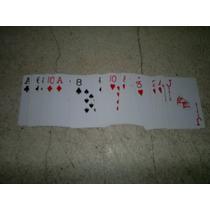 Maso De Naipes Para Poker.!!