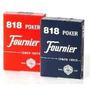 Fournier 818 Naipes Cartas Poker Blackjack Set X2 Originales